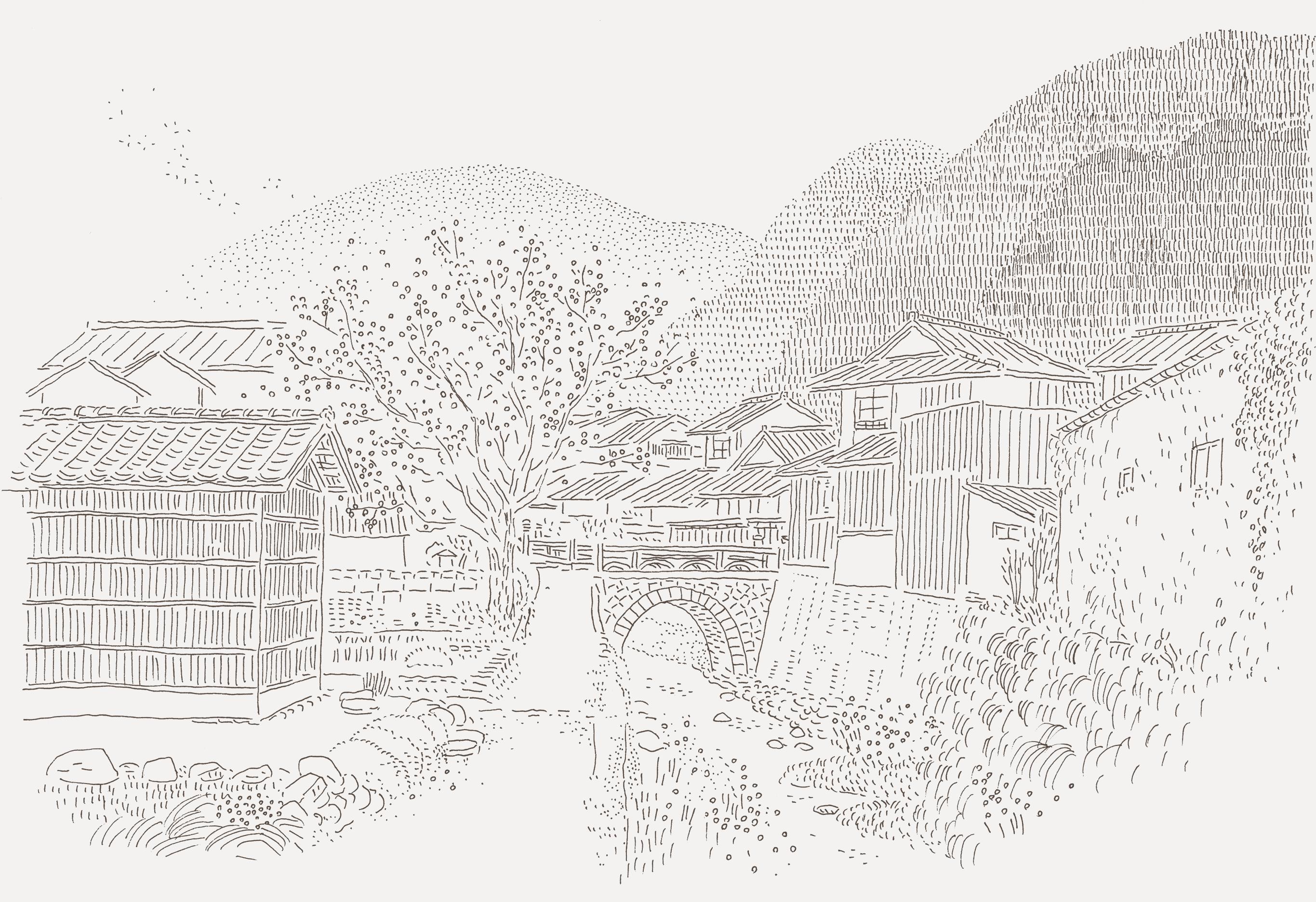 天然酵母が生まれた石見銀山の自然